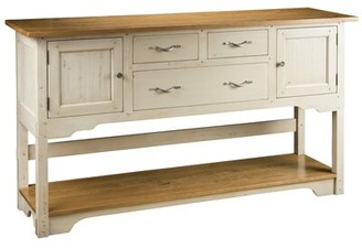 "MacKenzie-Dow 72"" Wide Buffet Table Base Color: Acanthus"