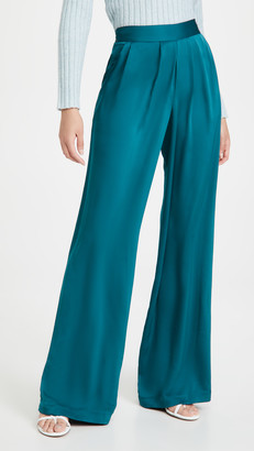 Ramy Brook Satin Iris Pants