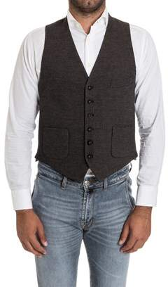 Manuel Ritz Men's Blue Wool Vest.