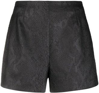 Roberto Cavalli Jacquard-Woven Shorts