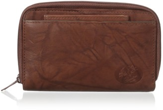 Buxton Heiress Double Zip Organizer Wallet