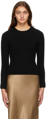 Max Mara Black Wool and Cashmere Pairak Sweater