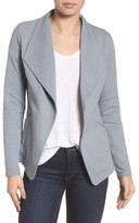 Caslon Women's Cotton Knit Open Front Blazer