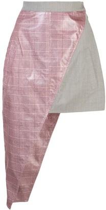 Natasha Zinko Asymmetric Mini Skirt