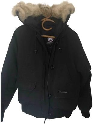 Canada Goose Chilliwack Black Coat for Women