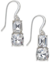 Charter Club Silver-Tone Crystal Drop Earrings, Only at Macy's