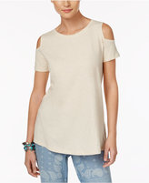 Style&Co. Style & Co Cotton Cold-Shoulder Top, Only at Macy's
