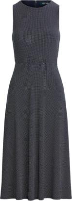 Ralph Lauren Matte Jersey Sleeveless Dress
