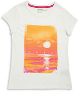 Roxy Girls 7-16 Sunset Tee
