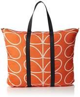 Orla Kiely Women's Giant Linear Stem Foldaway Travel Bag
