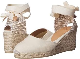 Castaner Carina 60 Wedge Espadrille (Black) Women's Shoes