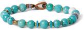 Mikia - Turquoise And Beaded Bracelet