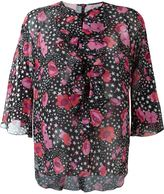 Giamba flower and star print blouse
