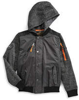Urban Republic Hooded Snap Jacket