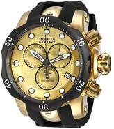 Invicta Men's 16150 Venom Quartz Chronograph Dial Watch - Black/Gold