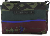 Versace printed nylon zip purse - men - Nylon - One Size