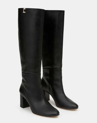 Lafayette 148 New York Leather Vale Knee-High Icon Boot
