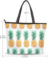 INGBAGS Fashion Tote Shoulder Bag Pineapple Pattern Women Ladies Handbag