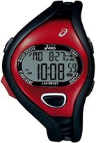 Asics Unisex CQAR0506 Entry Black Red Digital Running Watch