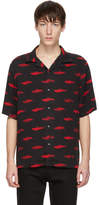 McQ Alexander McQueen Black and Red Racing Billy 03 Shirt
