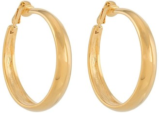 Kenneth Jay Lane Tapered Large Hoops