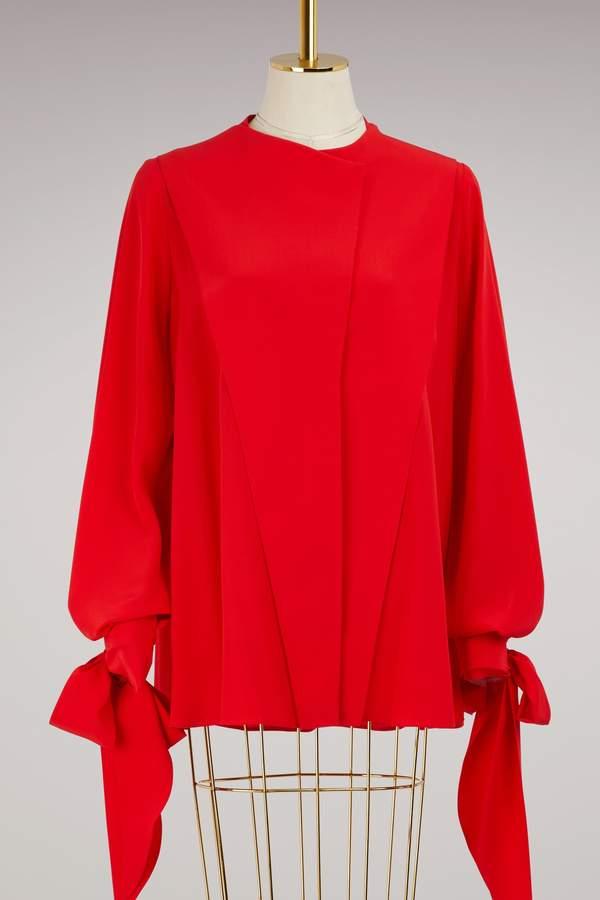 Givenchy Long sleeves crpe blouse