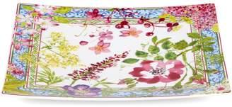 Gien Millefleurs Square Plate (29cm)