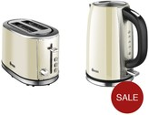 Swan Kettle And 2-Slice Toaster Pack - Cream