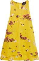 A.L.C. Stuart floral-print silk top