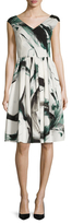 Dolce & Gabbana Cotton Printed A-Line Dress