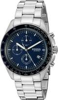 Fossil Men's CH3030 Sport 54 Analog Quartz Chronograph Stainless Steel Watch