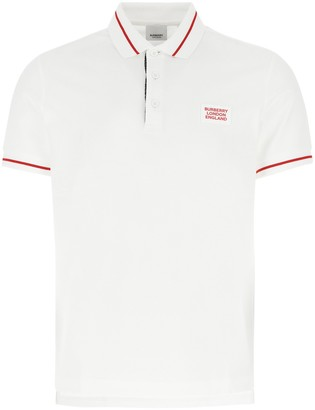Burberry Logo Patch Polo Shirt