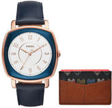 Fossil Casual Idealist Leather Strap Watch