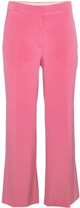 Valentino Silk Cropped Trousers