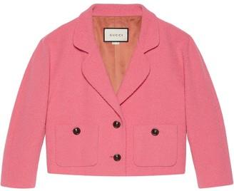 Gucci Boxy Tweed Jacket