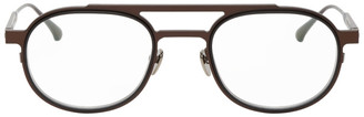 Thierry Lasry Brown Possibly Glasses