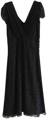 John Galliano Black Silk Dress for Women