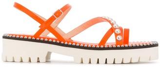 Jimmy Choo Micro Stud Sandals