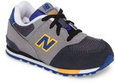 New Balance Infant Boy's 574 Cut & Paste Sneaker