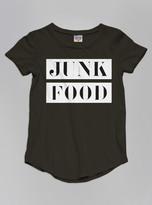 Junk Food Clothing Kids Girls Tee-jtblk-s