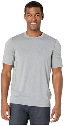 Fjallraven Abisko Day Hike Short Sleeve (Shark Grey) Men's Clothing
