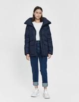 Canada Goose Women's Ockley Short Parka Jacket in Admiral Blue, Size Medium