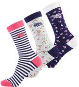 Superdry Ditsy Socks Triple Pack