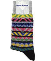 Burlington Fashion Fairisle Cotton Socks