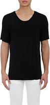 Raquel Allegra Men's Distressed T-Shirt-BLACK