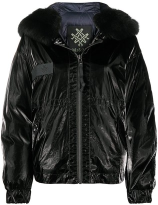 Mr & Mrs Italy Hooded Padded Jacket