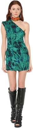 DSQUARED2 Tie Dye Crepe Mini Dress