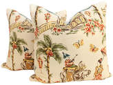 One Kings Lane Vintage Chinoiserie Bazaar Pillows