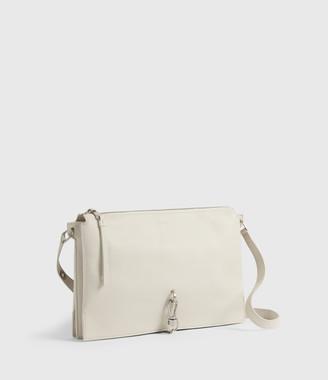 AllSaints Sheringham Leather Shoulder Bag