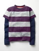 Boden Layered Stripe T-shirt